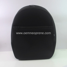 Large Black Neoprene backpack for adult