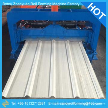 Máquina de fabricação de folhas de cobertura, máquina de formação de rolo de telhado, máquina de formação de rolos