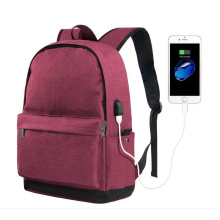 College High School Laptop Backpack with Charger for Men Women Girls Boys Water Resistant Bookbag for student