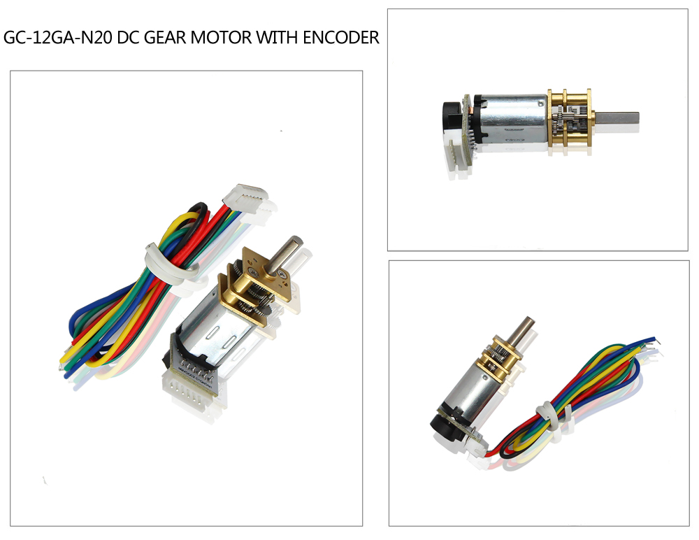 motor with encoder