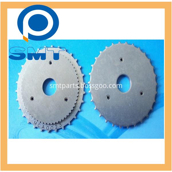 CP6CP7 feeder part 8x2 gear sprocket CA0023 AMCA4900 AMCA4901 AMCA49021