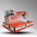 Mostrador de papelão com chocolate Candy PDQ Display