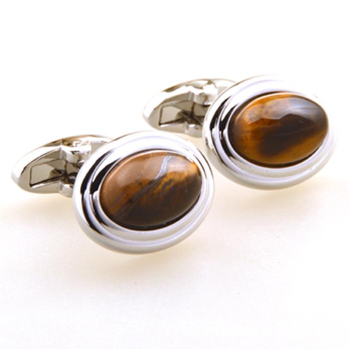 Best Men Designer Tiger Eye Cufflinks Sale