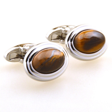 Best Men Designer Tiger Eye Cufflinks Sale