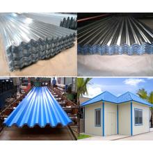 Telha de telhado de alumínio padrão de fabricação da China para construção de edifícios