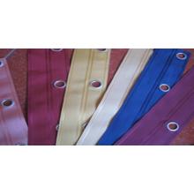 Cinta de cortina decorativa con ojal16mm y ancho 7.5-8 Cm