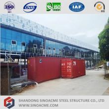 Prédio de escritórios de estrutura de aço pré-fabricados