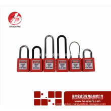 Best selling abs shackle lockout safety padlock With Good Service u lock