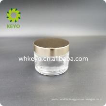 50g 100g empty Glass Cosmetics Jar Bottle Small Glass Jars