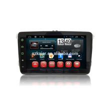 Écran tactile complet Android 4.4 dvd de voiture pour VW + dual core + DVR + TPMS + OBD