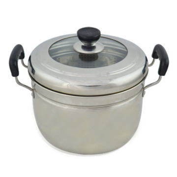 ChaoZhou stainless steel Japanese steamer pot
