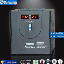 Fournisseur d'usine AVR Type d'affichage LED 10000VA 6000w Régulateur Stabilisateur AVR