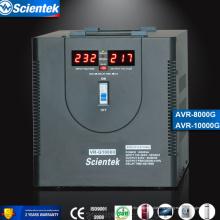 Завод поставщика AVR Полностью типа светодиодный дисплей 10000va 6000w стабилизатор стабилизатора AVR