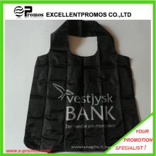 Sac à provisions en polyester pliable le plus vendu (EP-FB55513)
