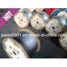 Ss304 / Ss316 Câble en acier inoxydable, corde à fil