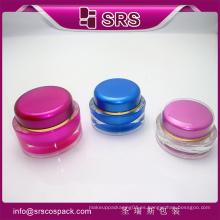 SRS hermoso envasado Crema Para Uso De Cuidado De La Piel Y frasco de cosméticos de lujo
