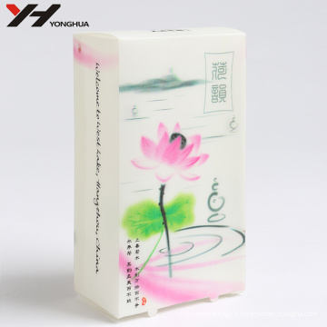 Boîte d'emballage faite sur commande de papier de stratification de Matt de logo de conception d'impression offset
