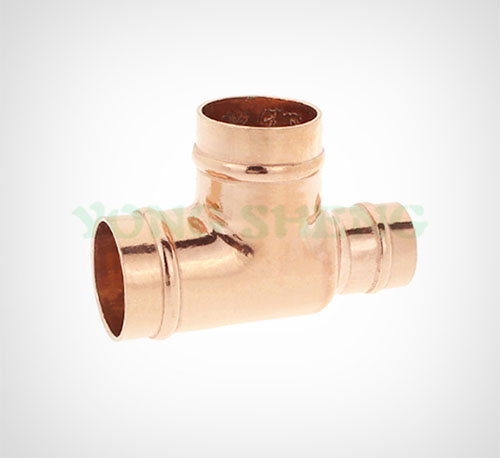 Copper Fitting Reducing Tee