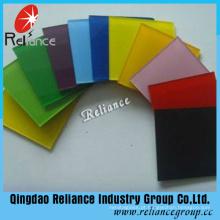 Vidro decorativo colorido / vidro pintado / vidro de apoio