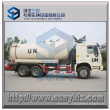 Camión cisterna con vacío HOWO 6X6 Rhd 16000 L