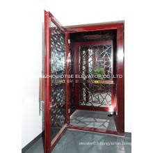 MRL 250kg comfortable home elevator lift