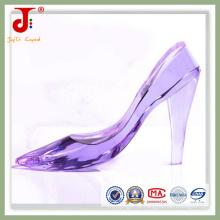 Cristal roxo artesanato decoração sapatos (jd-cs-102)