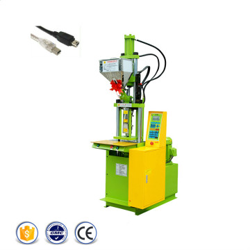 USB Wire Cable Plug Plastinsprutning Moulding Machine