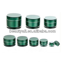 Luxury Double Wall Acrylic Cosmetic Jar 2ml 5ml 10ml 15ml 20ml 30ml 50ml 100ml 150ml 200ml
