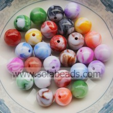 Summer 12mm Hair Round Smooth Tiny beads