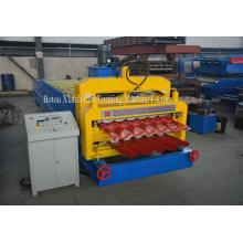 Double Panel Glaze AND Wave Roof Profile Roll Forming Machine