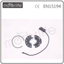 Sistema de asistencia de pedales MOTORLIFE (sensor PAS) 12 unids disco 3pin enchufe / cable a prueba de agua