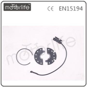 Система педали MOTORLIFE помощи(датчик pas) 12шт диск разъем/кабель водонепроницаемый разъем 3pin