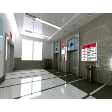 XIWEI ascenseur à lit d'hôpital avec cabine en acier peint