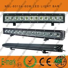 60W 20inch LED Off Road Light Bar, 6000k, 5100lm LED Off Road Light Bar