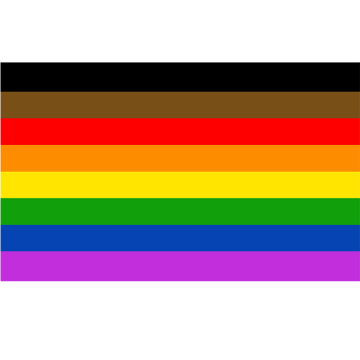 Cheap price 100% Polyester outdoor rainbow flag