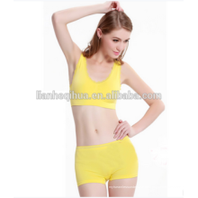 2016 Nylon Shorts Womens Seamless Bra & Brief Sets