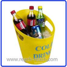Popular Beer Plastic Ice Bucket (R-IC0144)