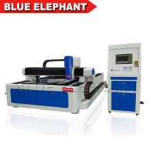 Machine de découpage de laser de fibre de carbone de rendement élevé 500w, machine de laser de fibre pour l'acier, aluminium
