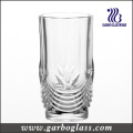 12oz Engraved Bottom Clear Glass Tumbler/Glass Cup