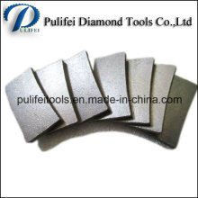 Segmento de diamante para ferramentas de granito de corte de lâmina de serra circular