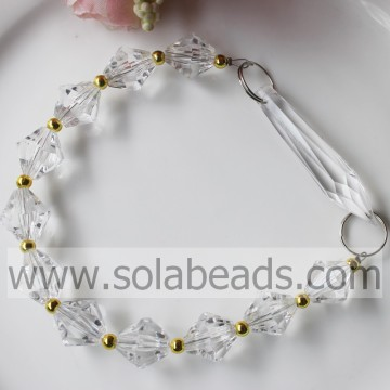Cheapest 270MM Length Acrylic Beaded Drop