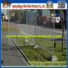 Heiß getauchten verzinkten oder elektrisch verzinkten temporären Zaun