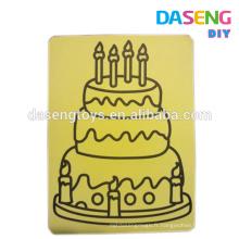 Sand art sticker card diy toy drawing set fo vente