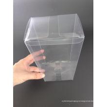 Caja de embalaje plástica competitiva del fabricante de China PVC / PP / PET (caja plegable)