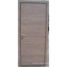 Puerta de rubor interior puerta de oscilación de melamina para sala de estar
