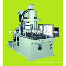 Machine de moule à injection en plastique rotative à servocommande automatique à grande vitesse 55T ~ 75T
