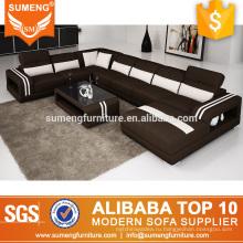 SUMENG формы контрастного цвета ткани диван установить