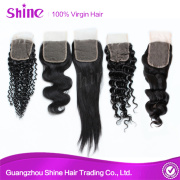 150% High Density Durable Free Parting Lace Closure