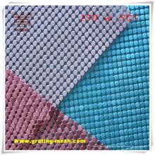 Maille décorative colorée de rideau en métal avec le prix bon marché (OIN)