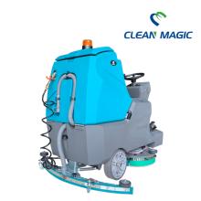 máquina limpiadora eléctrica de fregadoras de pisos de concreto
